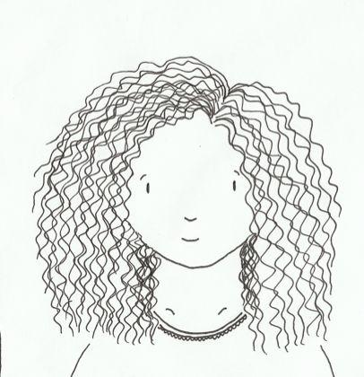 Illustratie 2 'meisje'