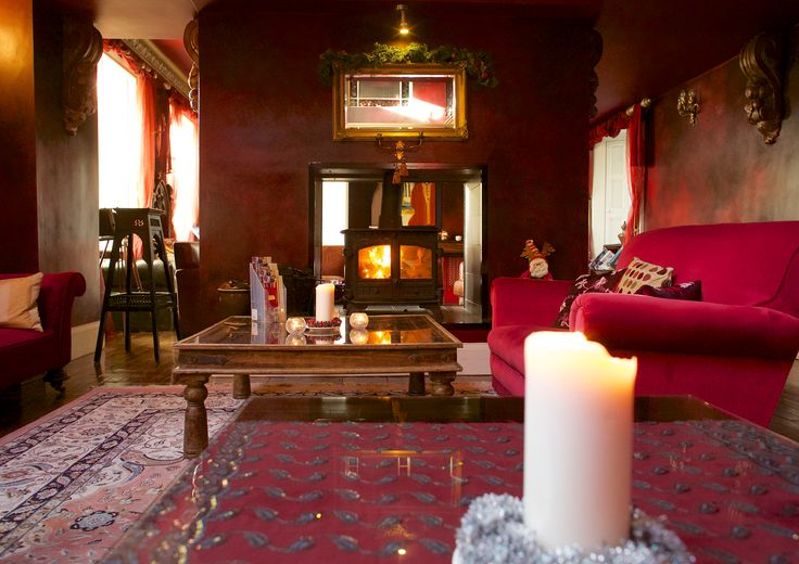 Red room and snug, Ballinacurra House