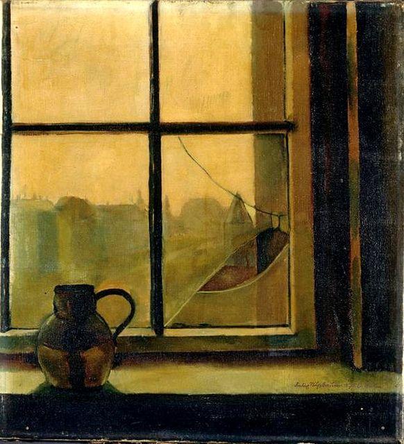Nussbaum, Felix (1904-1944) - 1926 Jug at the Window (Felix Nussbaum Haus Osnabruck, Germany) by RasMarley, via Flickr