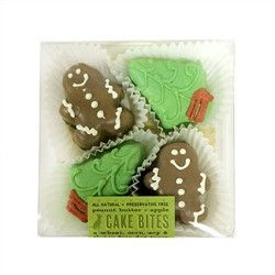 Christmas Cake Bites Box