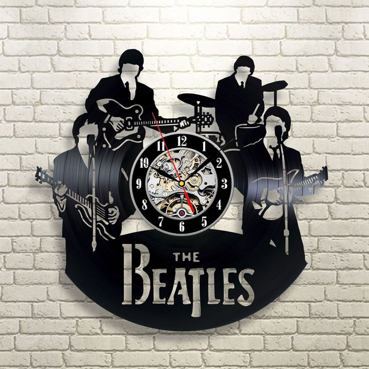 The Beatles Nursery Watch Vinyl Record Clock Home Party Wall Art Handmade 256