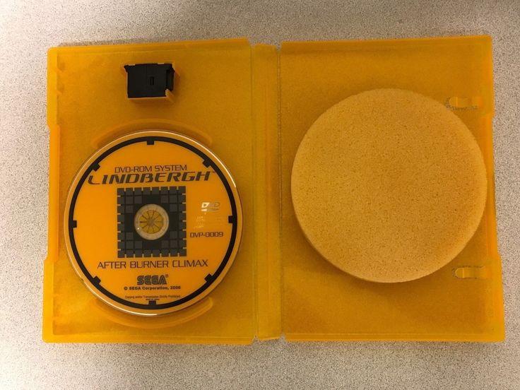 """Sega Arcade Lindbergh """"after Burner Climax"""" (dvd W/ Key-chip)"""
