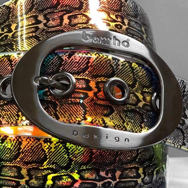 パイソン ミラージュ ブラック 39mm http://bahodesign.com/python-160   ゴルフ #ベルト #bahodesign #バホデザイン #バホ #日本 #大阪 #ホログラム #ミラージュ #ごるふ #亀谷産業