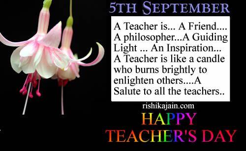 Birthday Wishes Quotes To Teacher : Teacher quotes teachers day sarvepalli radhakrishnan