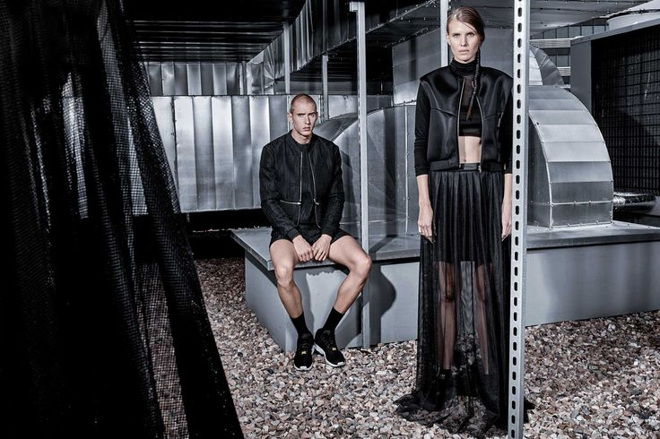 Filip_Roth_Absence_campaign #fashion #future #minimalism #blvck #filiproth #skirt #vest #futureminimal