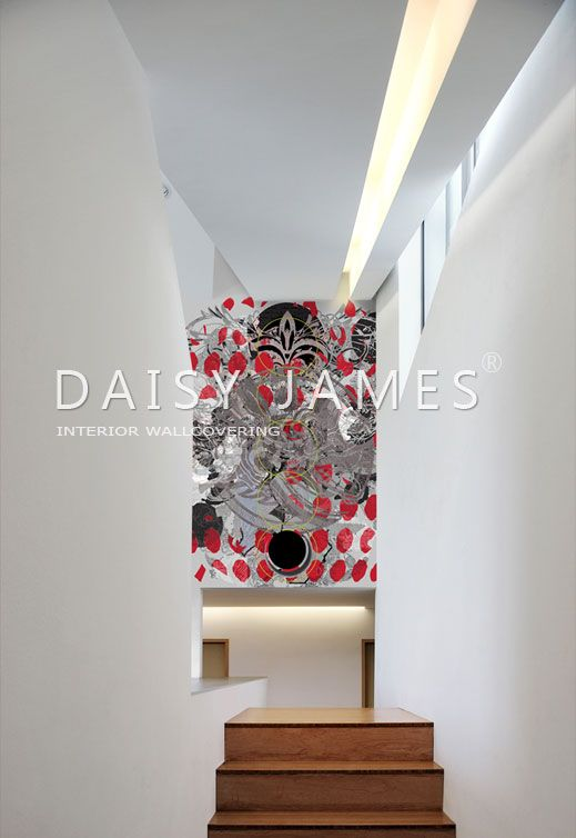 DAISY JAMES wallcover The Rose