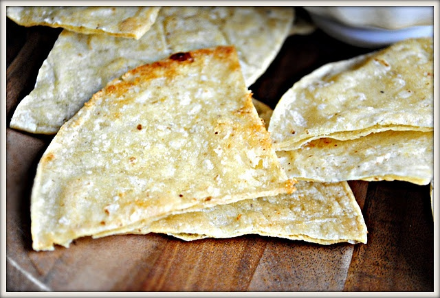 Baked Lime Tortilla Chips... like Chipotle!