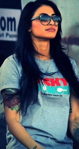 mtv vj bani tattoos and meanings