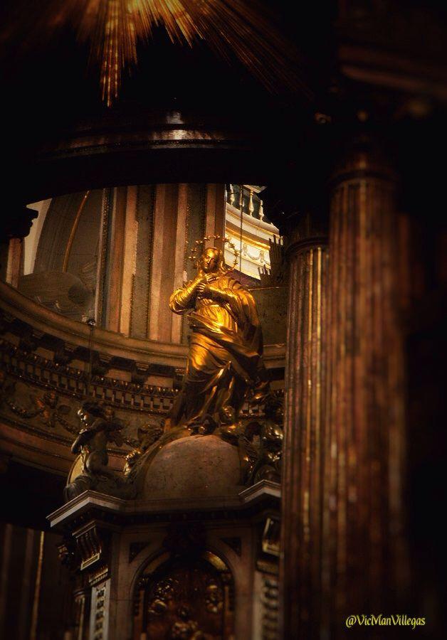 Altar Mayor. Catedral de Puebla #VicManPhoto @VicManVillegas