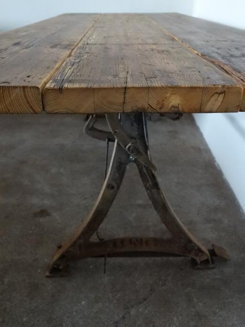 17 beste afbeeldingen over industriele tafels industri le eettafels op pint - Vivre interieur authentique ...