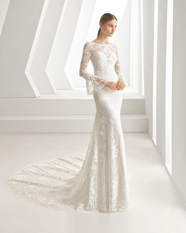 Davis Wedding Dresses Boho Bride Dress Lace Mermaid Wedding Dress