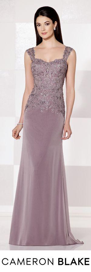 Cameron Blake Fall 2015 - Style No. 215629 cameronblake.com #motherofthebridedresses #eveninggowns