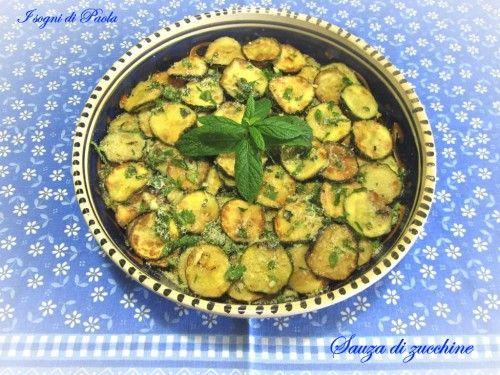 Sauza di zucchine. Calabria bella!