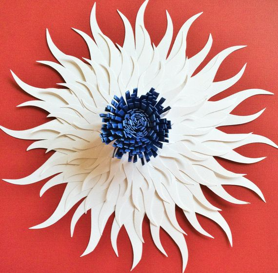 Giant Paper Flower Paper Flower Backdrop By