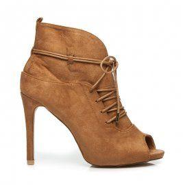Viazané topánky Peep Toe 1032-17C