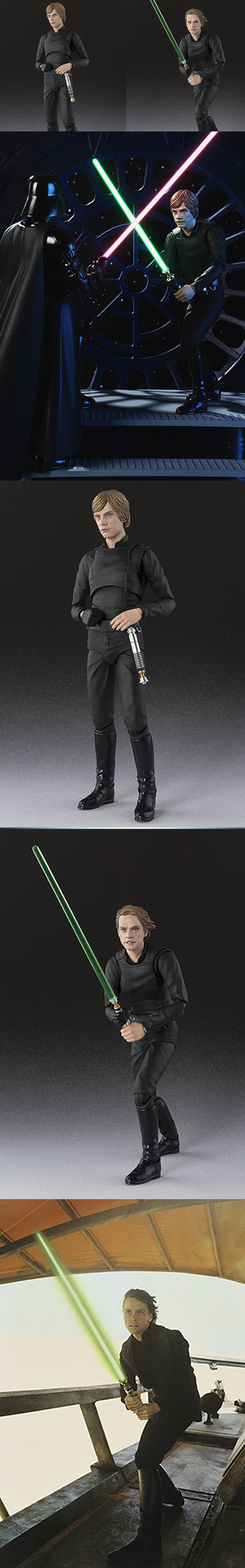 Bandai's Amazing Luke Skywalker Jedi Action Figure Bandai is releasing a series of incredible Star Wars action figures, and so far we've seen a samurai Darth Vader and a samurai Stormtrooper. Now we have one of a Luke Skywalker Jedi action figure based on his look from Star Wars: Return of the Jedi. In fact, you can actually pose the figure the way that you see him on the movie poster. It's pretty damn cool. Read More…
