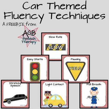 I have a little guy who is very interested in and motivated by cars. He's a child who stutters, so I created these posters and cards to use in his speech therapy sessions. Enjoy this SWEETIE from The BonBonSpeecher Store!