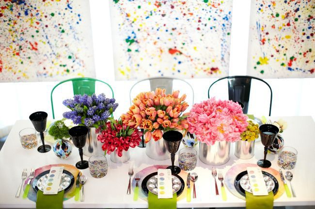 INCREDIBLE watercolor wedding!!! Almost makes me rethink all my wedding plans ;)