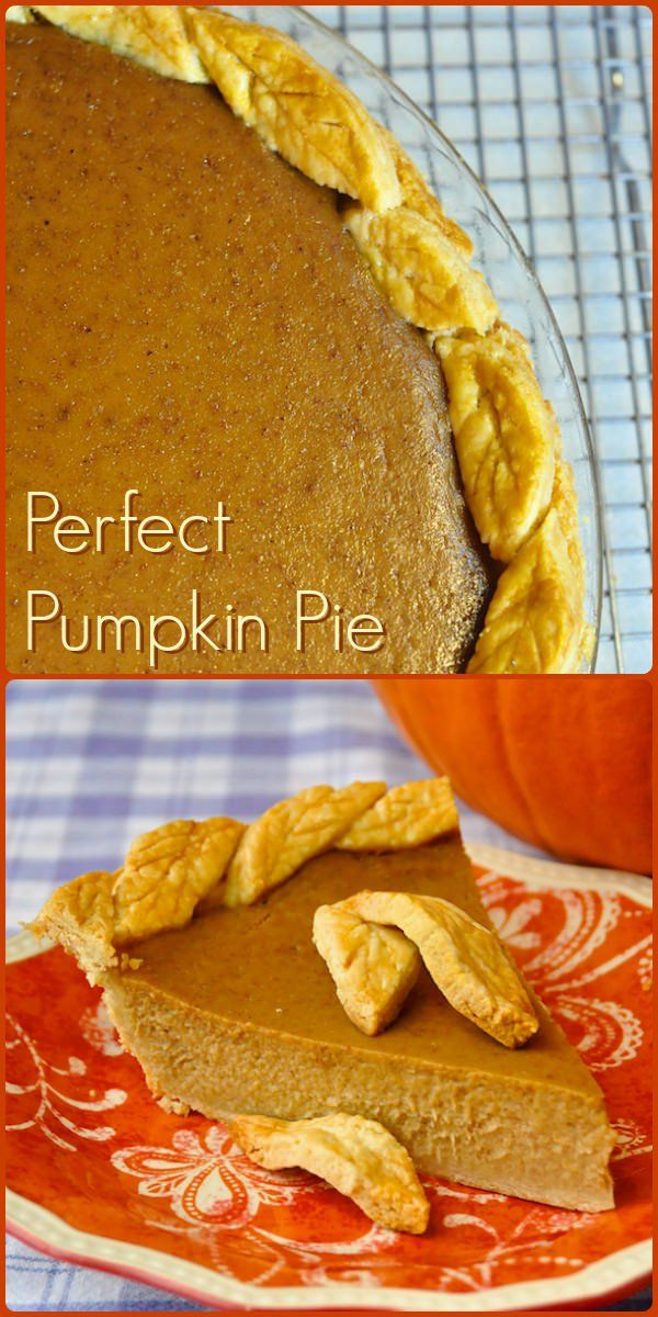 The perfect pumpkin pie is rich, creamy, smooth & velvety with the perfect level of fragrant spices all in a flaky butter pastry. This recipe gets it right.