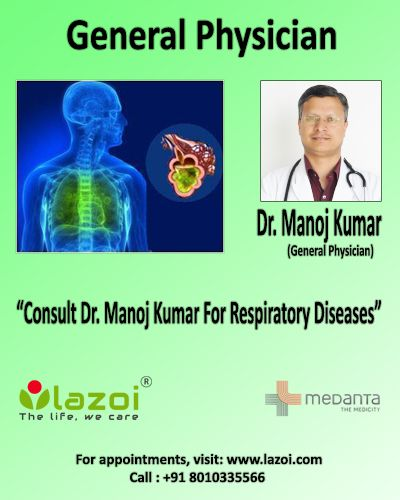 Dr. Manoj Kumar is an expert in managing patients of #infectious_diseases, #nutritional_diseases, #iodine_defiency, #iron_deficiency, #vitamin_A_deficiency, #hormonal/endocrine diseases, #respiratory_diseases, #cough, #asthma, #bronchitis, #blood_diseases etc. For appointments with Dr. Manoj Kumar click on the link : https://goo.gl/b22C31 or call us at 8010335566.