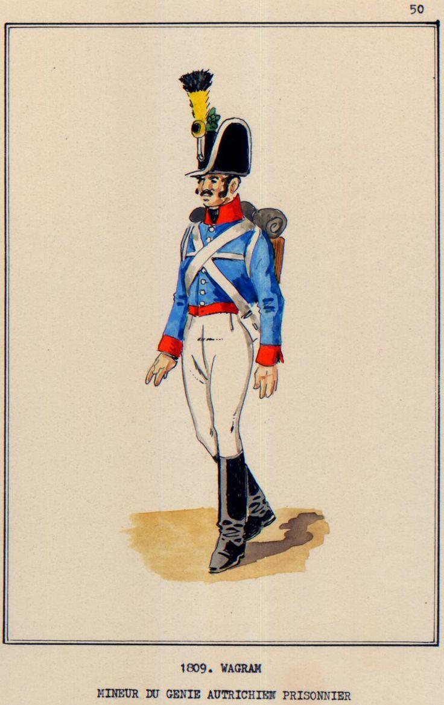 Austria; Engineers, Miner, Wagram, 1809