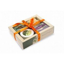 Συσκευασίες δώρου : Κρέμα χεριών - 2 σαπούνια - φυσικό σφουγγάρι.  www.e-kallyntika.gr