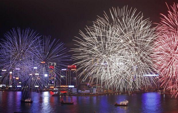 Chinese Lunar New Year in Hong Kong