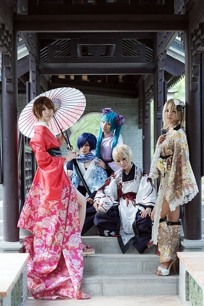 awesome vocaloid cosplayer | :hongkongbabeh:Dreaming Little Bird Vocaloid group cosplay ...