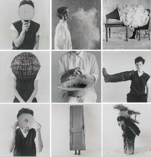Ann Hamilton body object series