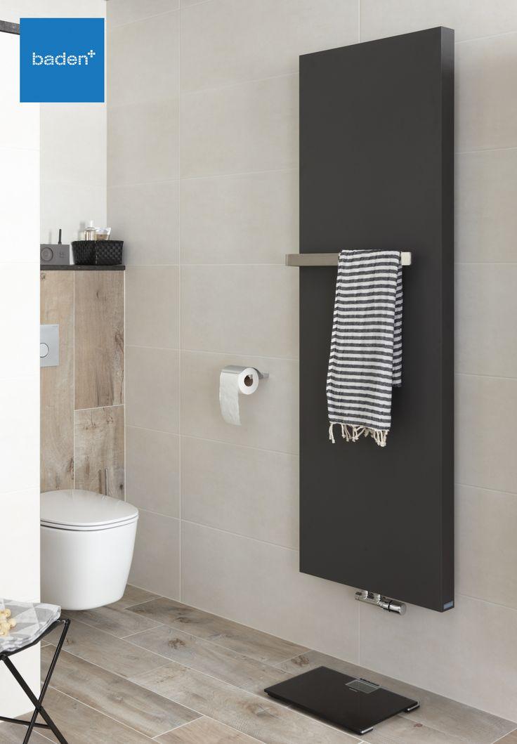 Radiatoren zijn tegenwoordig in alle denkbare kleuren verkrijgbaar. Met deze stijlvolle zwarte kleur wordt de designradiator een echte blikvanger in uw badkamer.