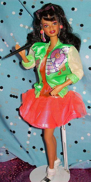 1987 Barbie & the Sensations Belinda