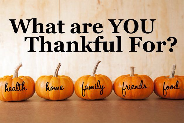 THing to be thankful for