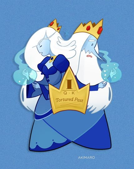 Ice King and Ice Quee