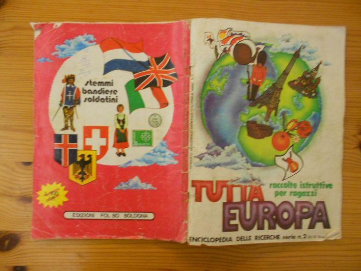 15 euro. Tutta Europa, ed. Flo Bo. Condizioni discrete. Mancanti figurine 44 su 446.