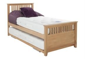 Gainsborough Sleepover bed frame with open coil mattress set - £599 @Furniture Village