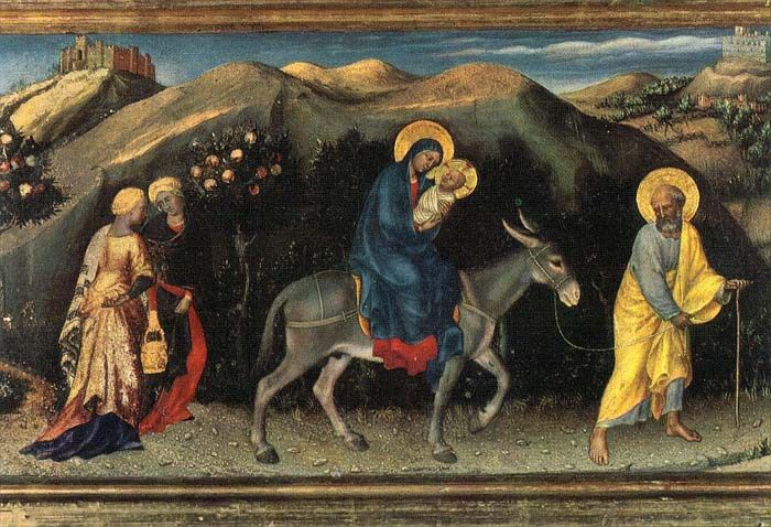 Gentile da Fabriano, 1423 - Uffizi, Firenze
