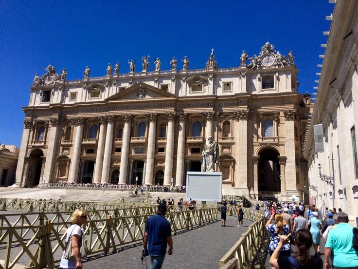 Basilica St. Peter @Vatikan, Roma-Italy