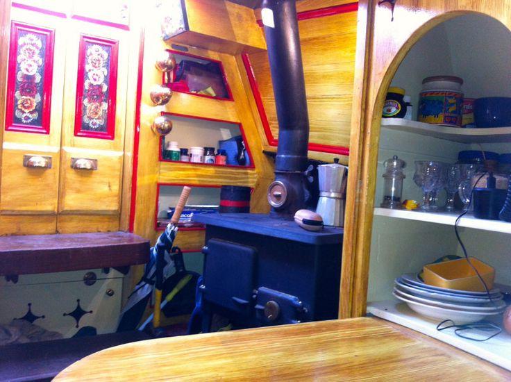 Cygnus back cabin stove.