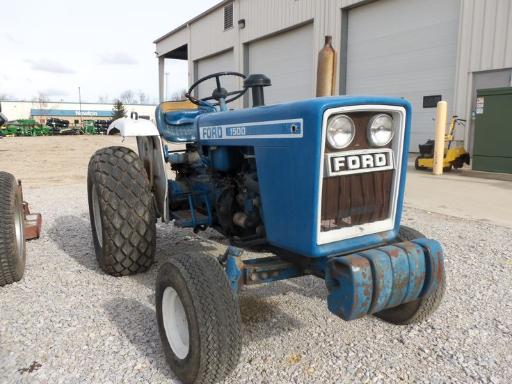 Old Ford Diesel Tractors : Ford compact diesel tractor tractors