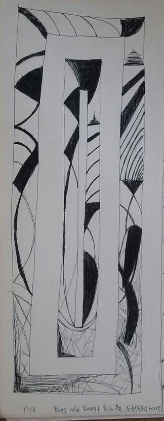 Pattern drawing No.1
