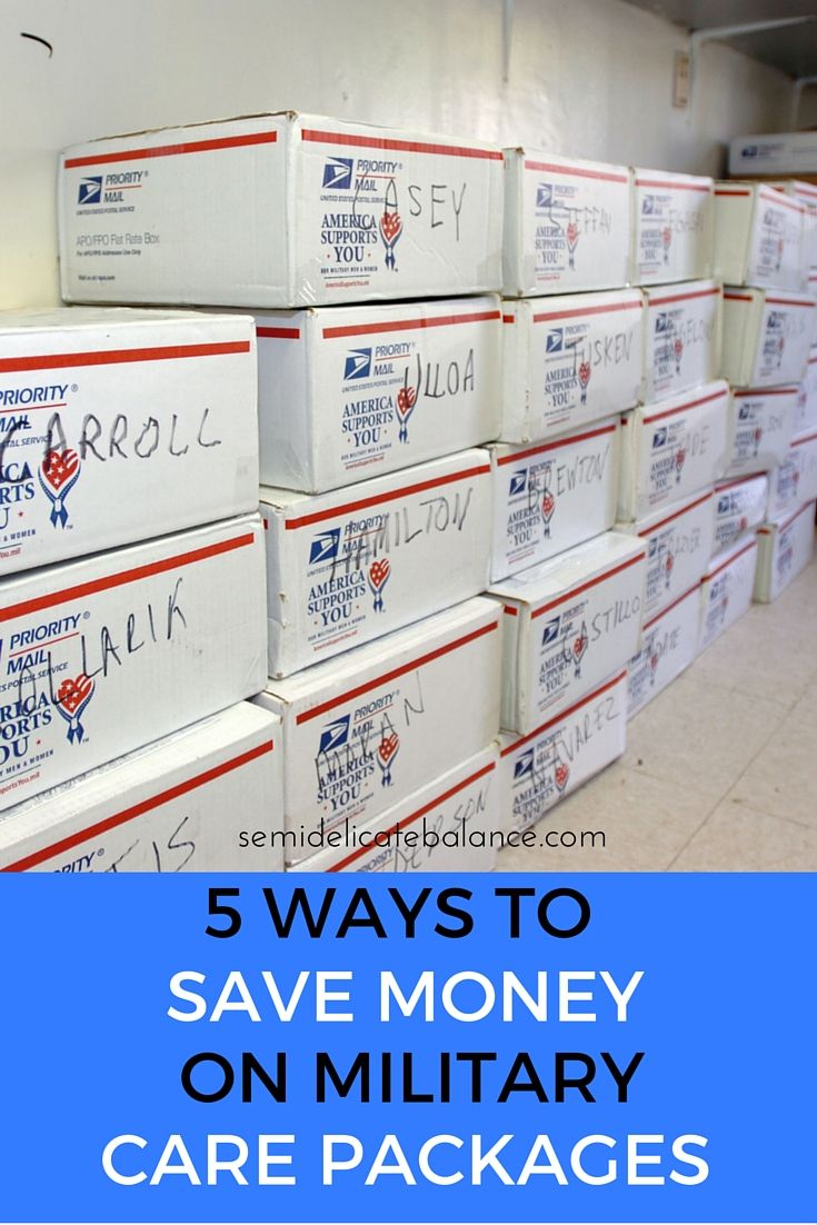5 ways to save money on military care packages, buy in bulk! #MySweetStory #ad