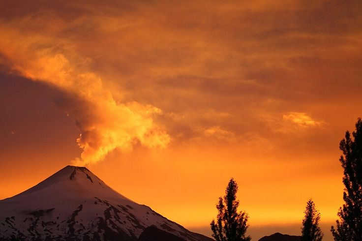 Volcan Villarrica (Chili)