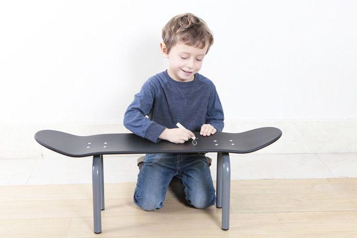 フランス発のキッズ向け「スケートボード家具」がかわいい