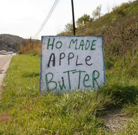 We all like Ho Made, right? ;-)Can'T Stop Laugh, Funny Signs, Apples Butter, Funny Stuff, Street Signs, Funny Photos, Funny Commercials, Laugh So Hard, So Funny