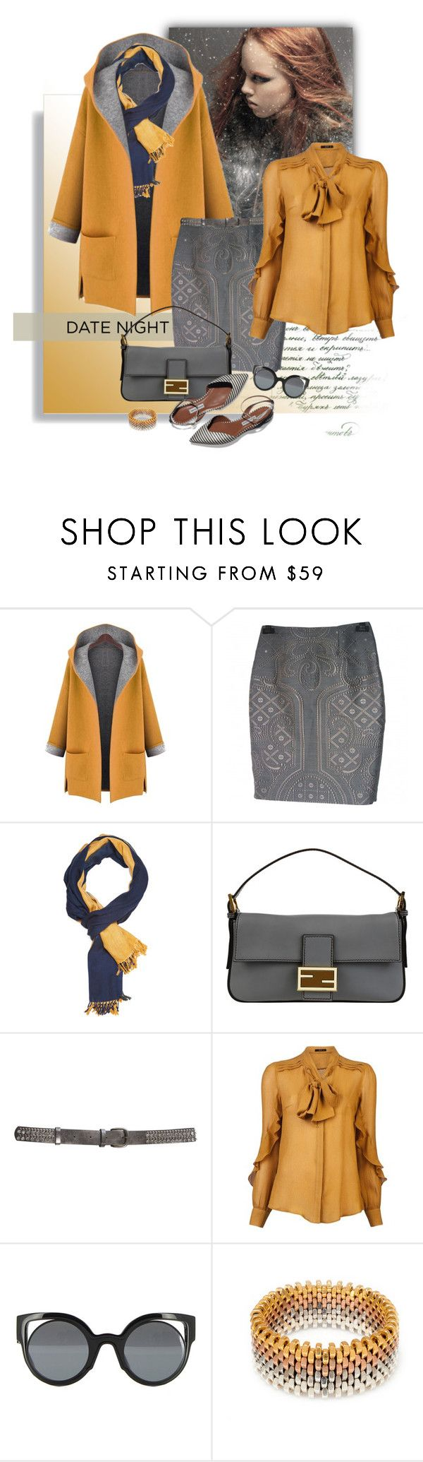 """""""60-Second Style: Last Minute Date"""" by ysmn-pan ❤ liked on Polyvore featuring Prabal Gurung, Slater Zorn, Fendi, Etro, Alice Menter, DateNight, contest, 60secondstyle and LastMinuteDate"""