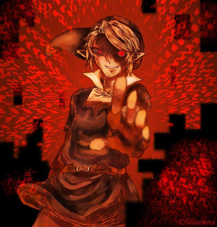 the legend of zelda ocarina of time dark link ����
