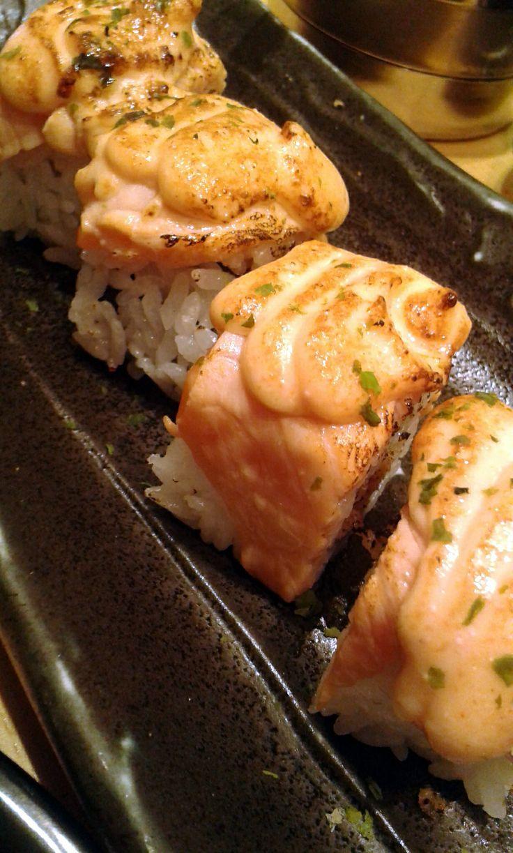 Favorites! Tuna salad crispy mentai @ Sushi Tei