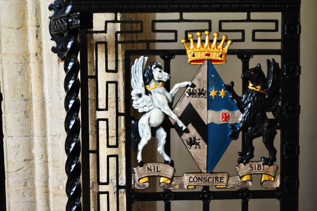 Iron Gate Motif - St Davids Cathedral, St David's, Wales, UK | Flickr - Photo Sharing!