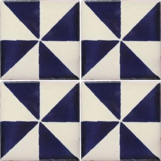 San lucas talavera mexican tile mexican style for Oficina zona azul talavera