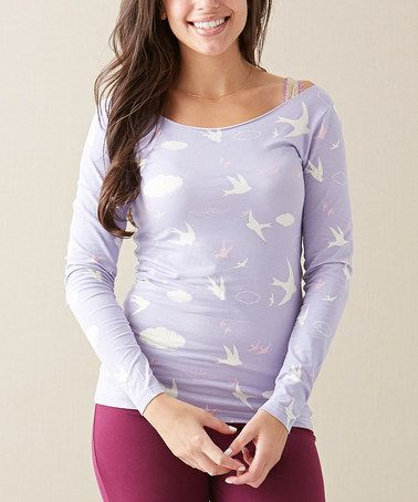Look what I found on #zulily! Lavender Morning Skies Tee - Women by Matilda Jane Clothing #zulilyfinds